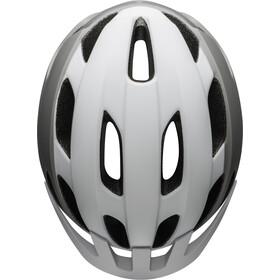 Bell Trace LED Helmet, blanco/gris